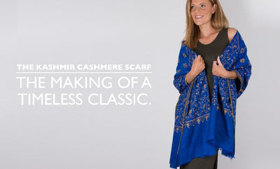 Kashmir Cashmere Scarves - A Timeless Classic