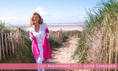 Our Pashminas Are a Game-Changer