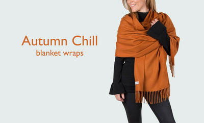 Guest Blog: Scarf Insider: Autumn Chill: Blanket Wraps