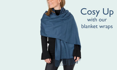 The Girl Upstairs: Cosy Up With Our Blanket Cape Wraps