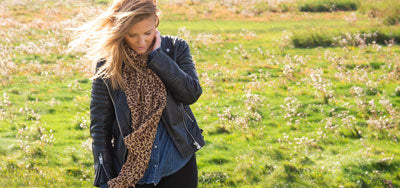 Animal & Leopard Print Scarves