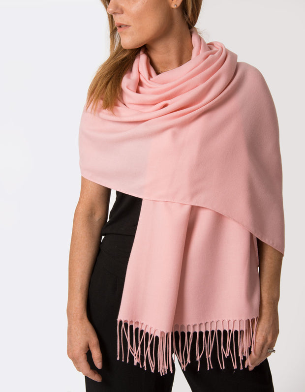 Apple Blossom Pink Pashmina