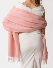 Apple Blossom Wedding Pashmina