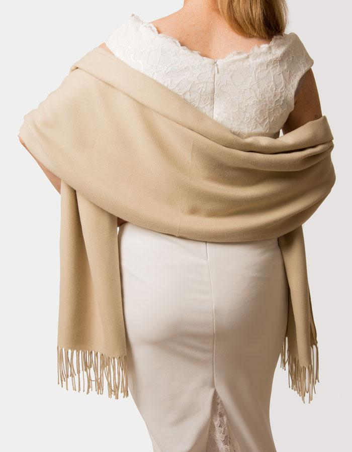 Biscuit Wedding Pashmina