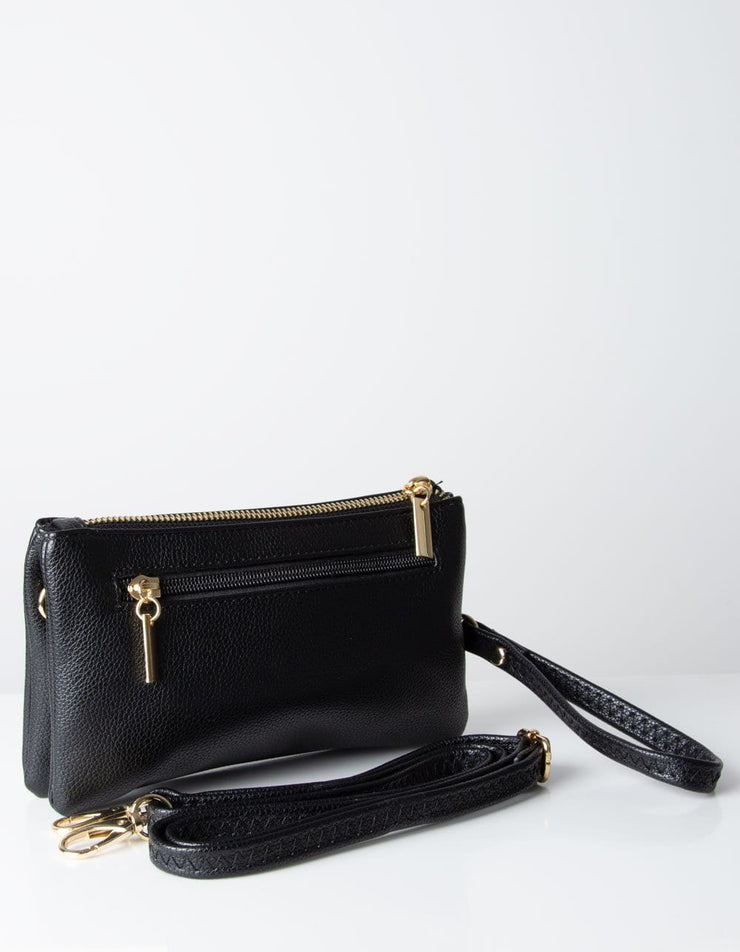 Black Clutch Bag | Toni