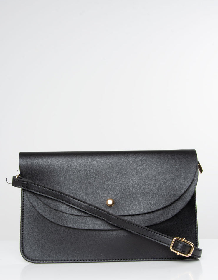 Black Clutch Bag | Jordan