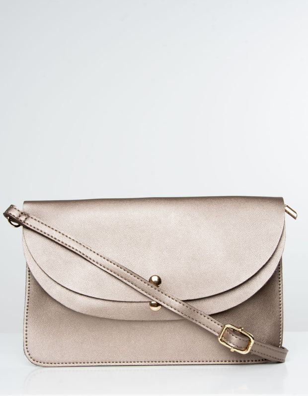 Bronze Clutch Bag | Jordan