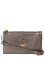 Bronze Clutch Bag | Toni