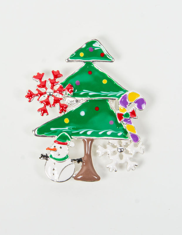 Brooch | Christmas Tree  | Green