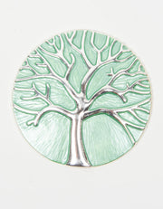Brooch | Tree of Life | Green