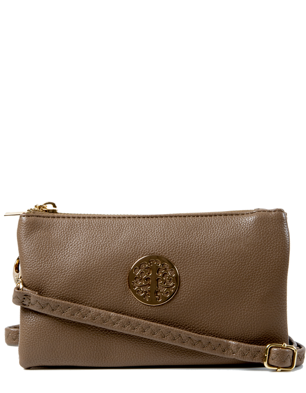 Brown Clutch Bag | Toni