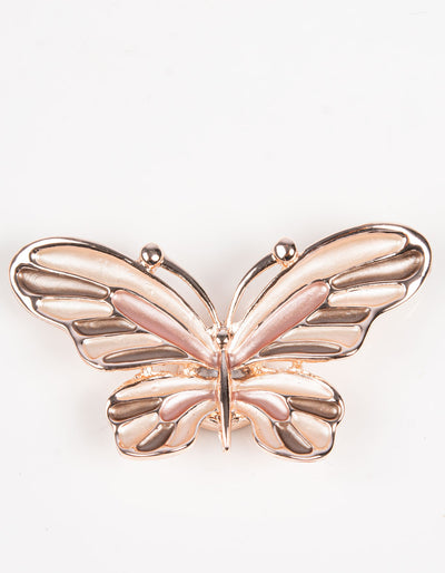 Brooch | Butterfly | Rose Gold