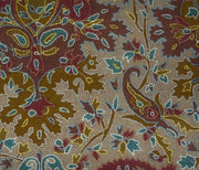 Indian Scarf Beige Jaalidar