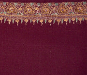 Indian Scarf Red Hashidar
