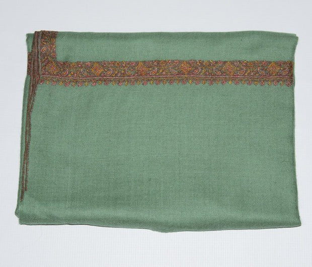 Indian Scarf Green Hashidar