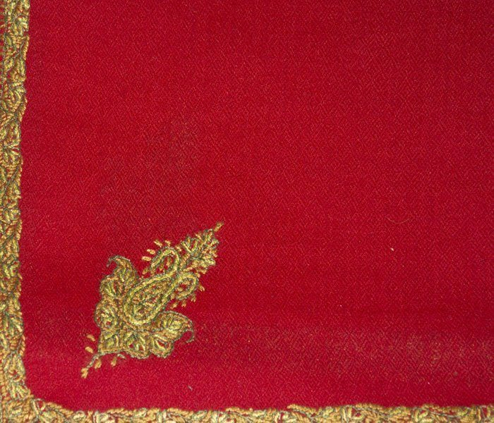 Indian Scarf Bootidar Red
