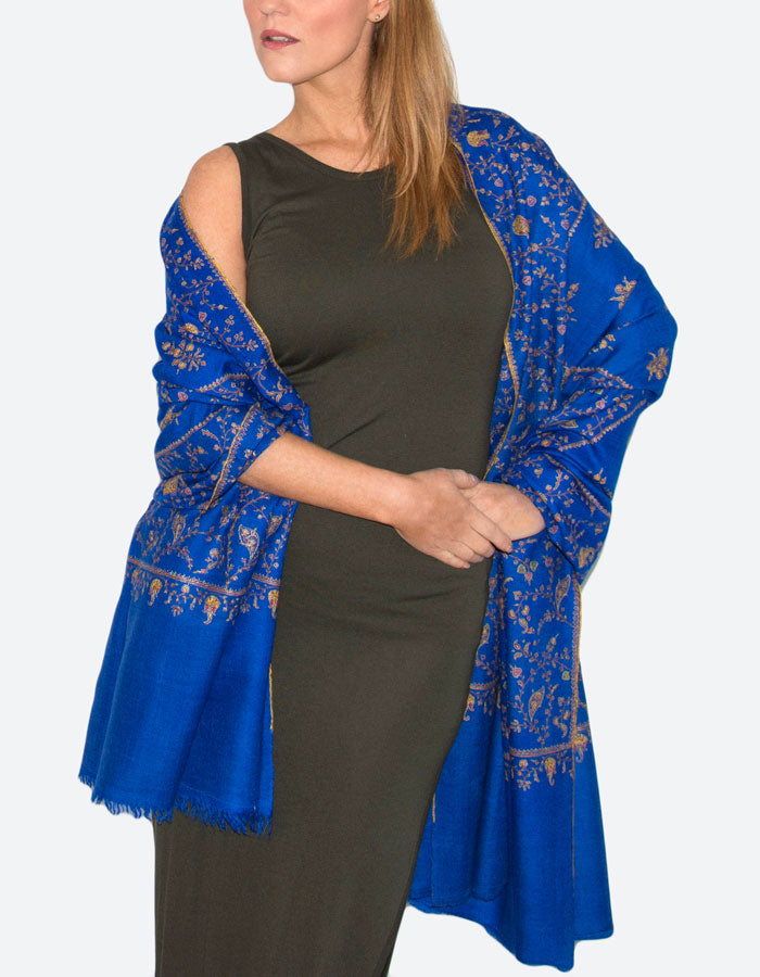 Image showing cashmere sapphire blue