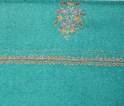 Indian Scarf Turquoise Bootidar