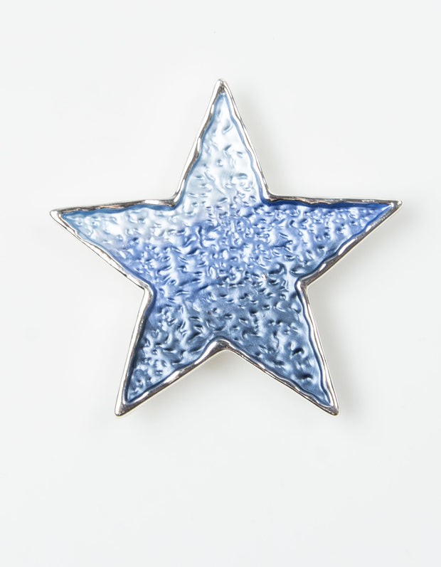 Brooch | Star | Blue