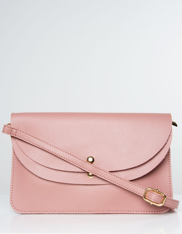 Dusky Pink Clutch Bag | Jordan