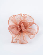 Fascinator Small Dusky Pink