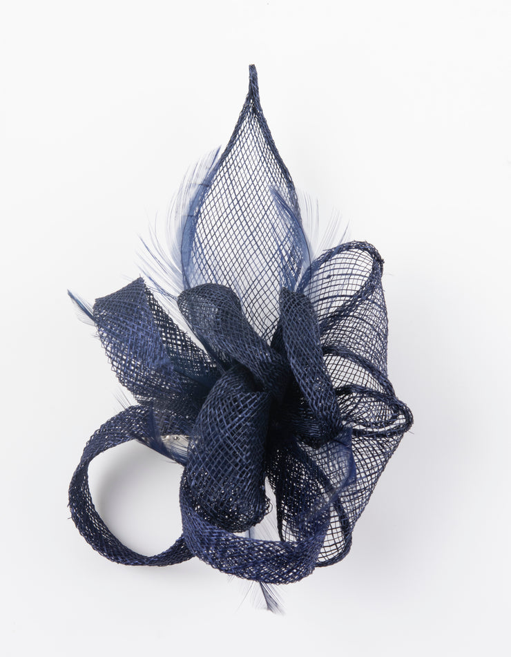 Fascinator Small Navy