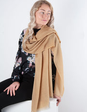 Gold Cashmere Scarf