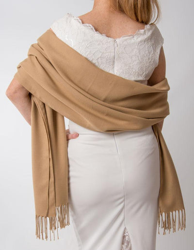 Gold Wedding Pashmina