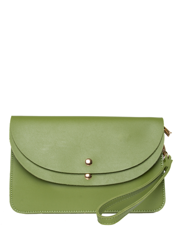 Green Clutch Bag | Jordan