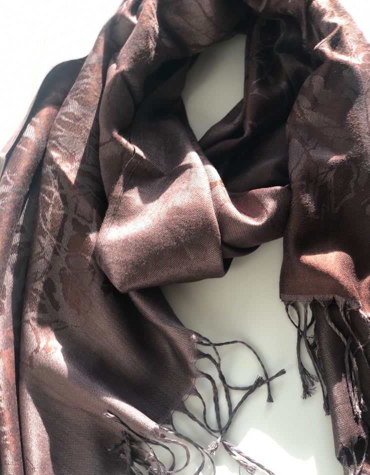 Brown Branch Pashmina