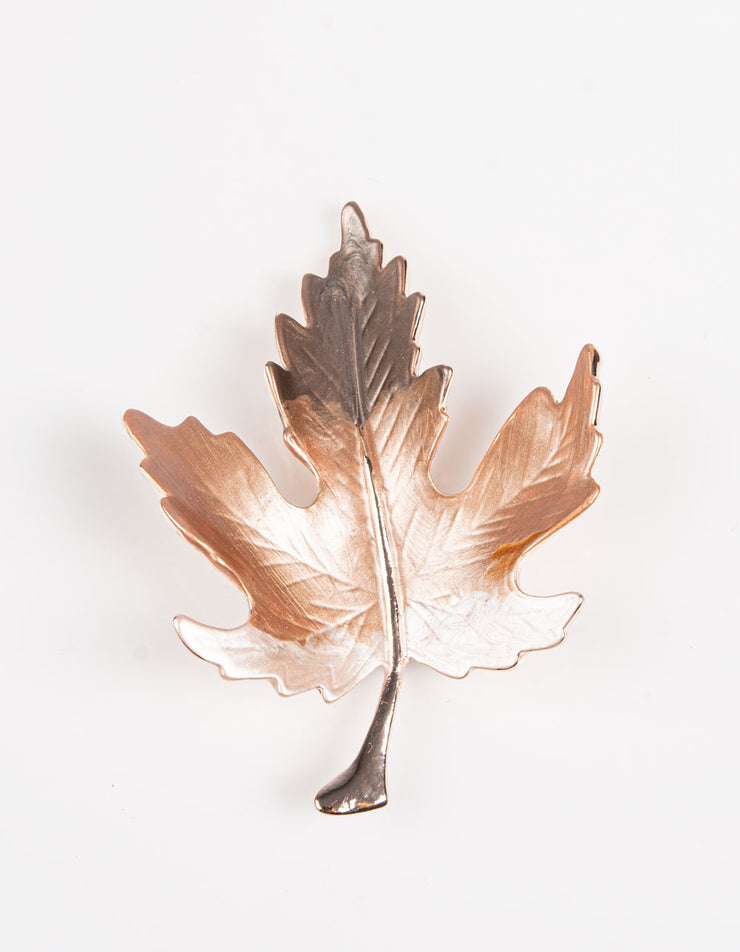Brooch | Leaf | Rose Gold