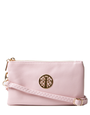 Light Pink Clutch Bag | Toni