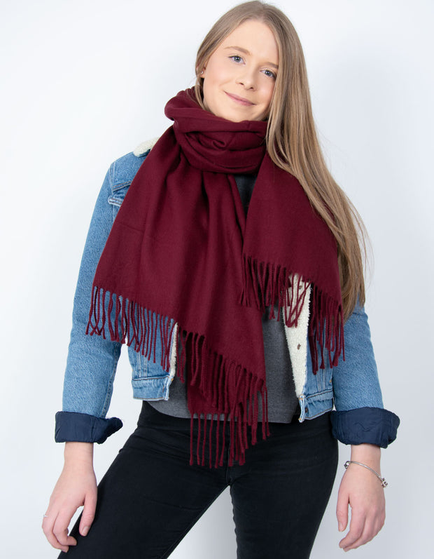 Mulberry Blanket Scarf