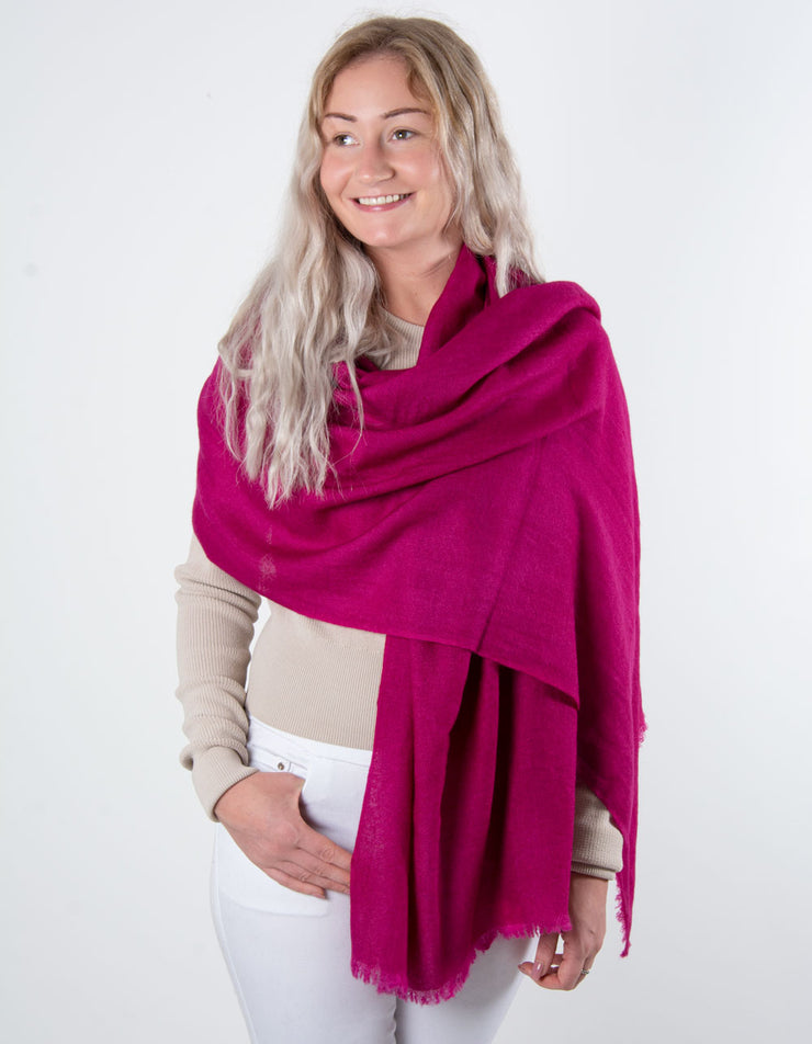 Mulberry Cashmere Scarf