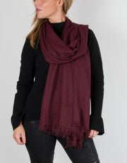 Image showing a Mulberry Lightweight Scarf