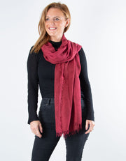 Mulberry Scarf - Italian MicroModal
