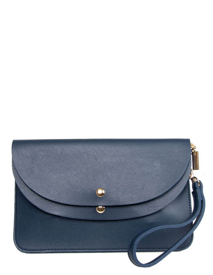 Navy Clutch Bag | Jordan