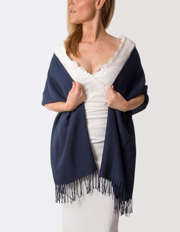 Navy Blue Wedding Pashmina | number 37