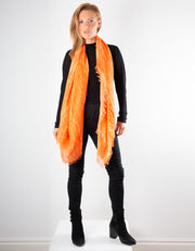 Orange Scarf - Italian MicroModal