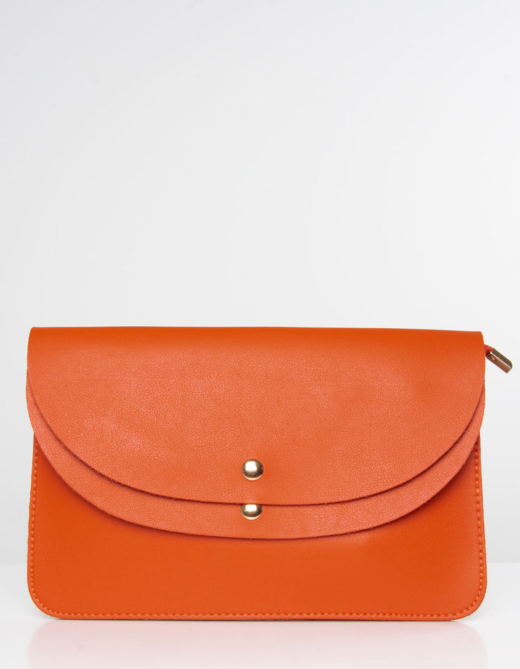 Orange Clutch Bag | Jordan