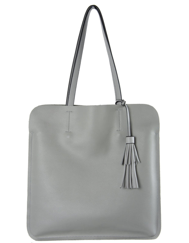Pale Grey Shopper