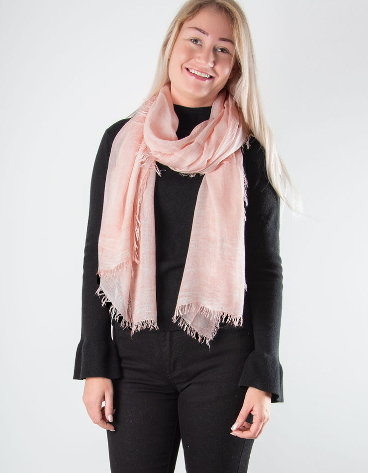 Pale Pink Scarf - Italian MicroModal