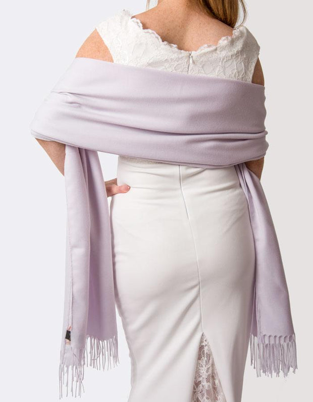Lilac Wedding Pashmina
