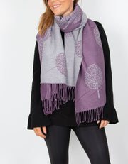 an image showing a blanket scarf