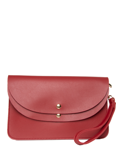 Red Clutch Bag | Jordan