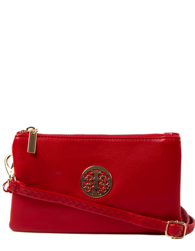 Red Clutch Bag | Toni