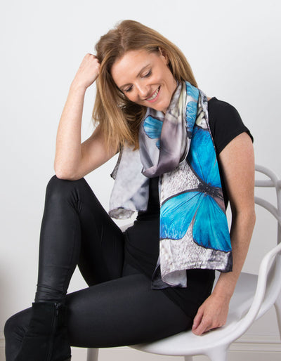 Image showing a Silk Scarf Butterfly