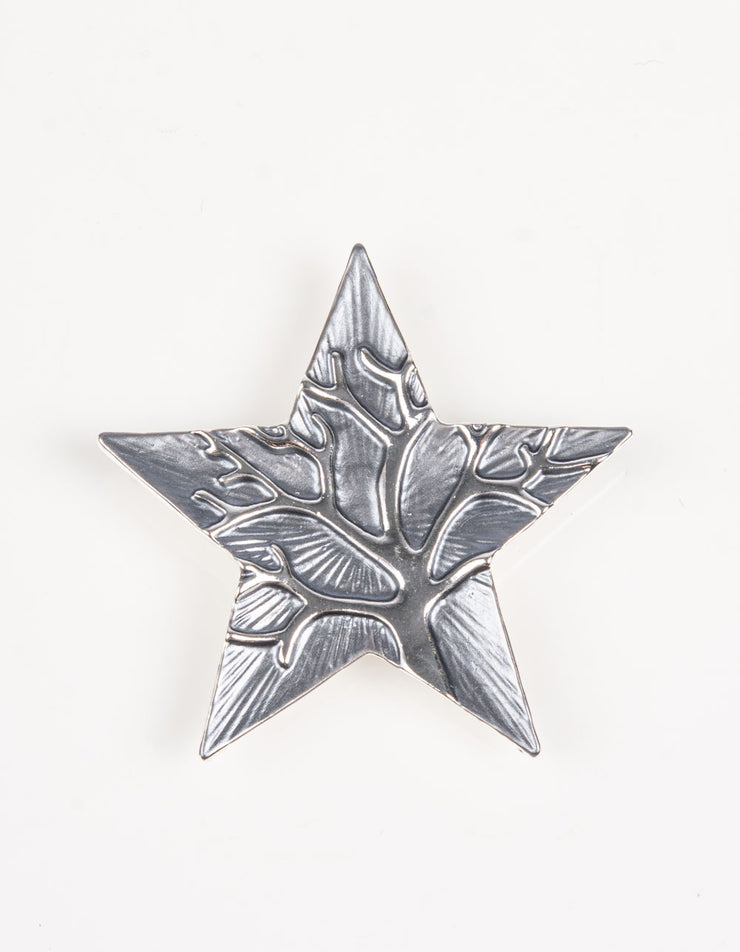 Brooch | Star Tree of Life | Dark Silver