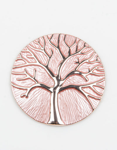 Brooch | Tree of Life | Pink