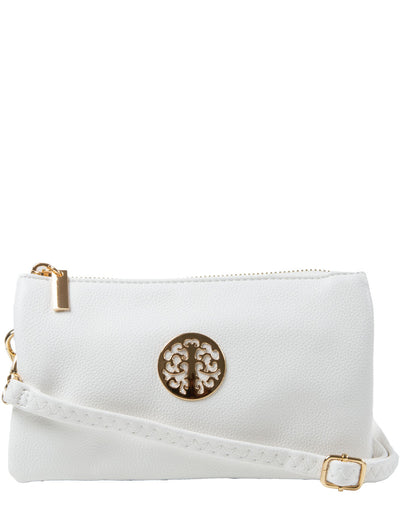 White Clutch Bag | Toni